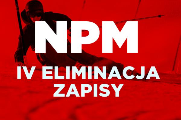 Zapisy na IV eliminację NPM