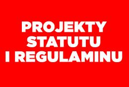 Projekt Statutu i Regulaminu