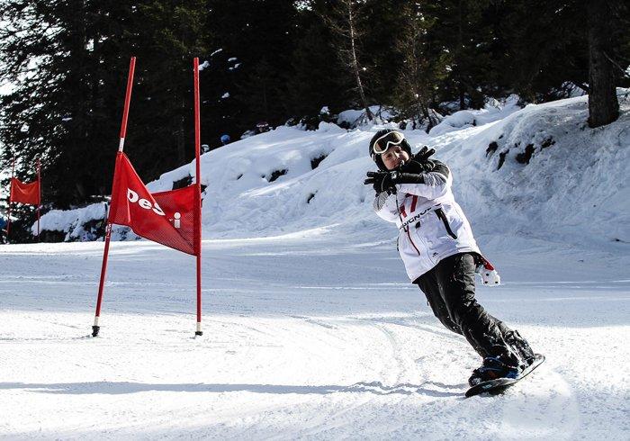 obóz snowboardowy