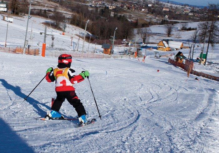 obóz narciarski dla dzieci
