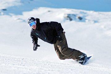 instruktor snowboardu