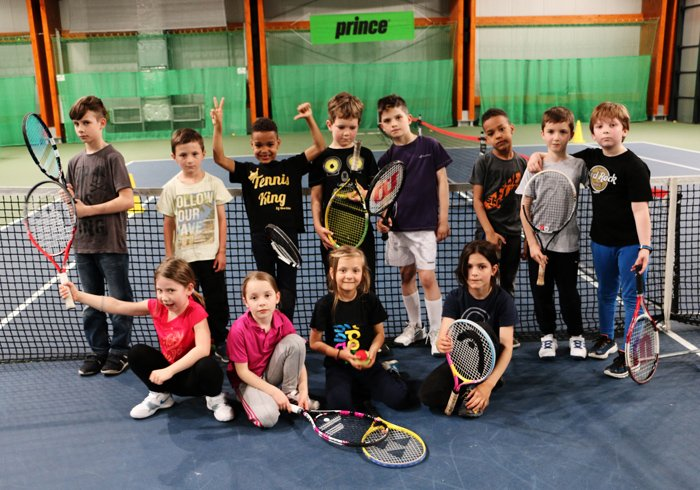 obóz tenis